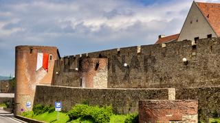 Old walls of Bratislava