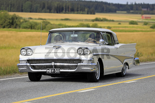 Ford Fairlane 500 Classic Car on Drive