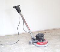 Concrete surface sanding machine