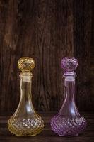 Decorative Colorful Olive Oil and Vinegar Bottles