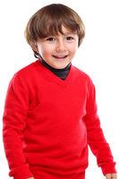Kind Junge Oberkörper Portrait Porträt Gesicht lachen isoliert Freisteller freigestellt