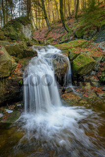 Wasserfall Ilsetal im Herbst