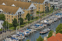 Canal Tour: beautiful view on Copenhagen water front. Canal Tours Copenhagen is a wonderful way of seeing this city