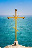 Christian Cross at Cape Kaliakra