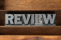 review word tray