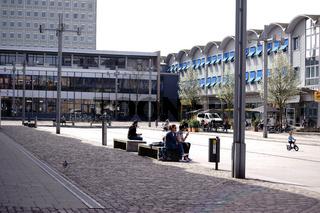 Vorplatz Bahnhof Koblenz