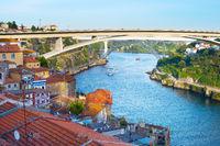 Skyline Porto Infante Henrique Bridge