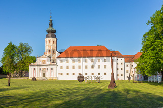 The Cistercian monastery Kostanjevica na Krki, Slovenia, Europe.