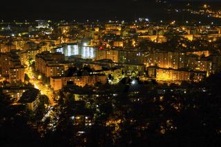 Targu Mures at night