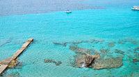 Turquoise Mediterranean Seascape, Mallorca, Spain