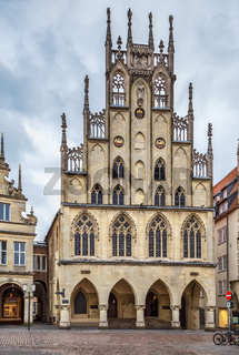 Historical City Hall of Munster, Germany