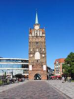 Kröpeliner Tor in Rostock, Deutschland
