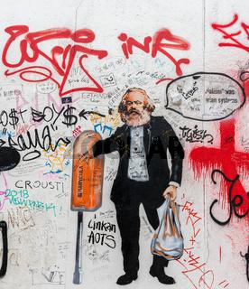 Marx Karikatur