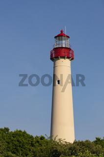 Atlantic Ocean Coastal Beacon Cape May Lighthouse in New Jersey USA