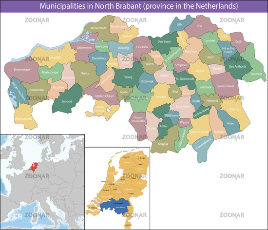 North Brabant is a province of the Netherlands