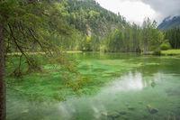 Schiederweiher, beautiful lake in Austria near Hinterstoder