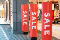 Sale - shop entrance / storefront with