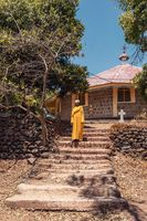 Orthodox monk lake Tana, Ethiopia