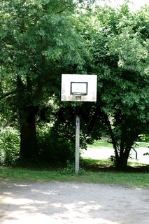 Basketballfeld am Park