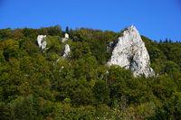 Naturpark Obere Donau, Ruine Hausen und Stuhlfels