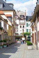 Enge Gasse am Waisenhausplatz Bad Homburg