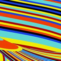 Zebra Pop Abstract Stripe Pattern