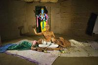Hadshi Temple, Sant Darshan Museum, near tikona Vadgoan Maval, District Pune, Maharashtra, India