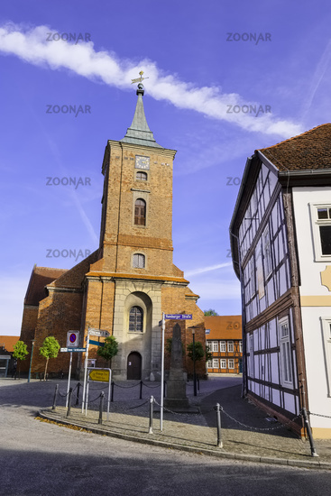 Kirche St.-Katharinen Lenzen (Elbe), Brandenburg, Deutschland