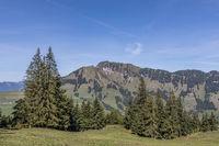Aussicht auf das Stanserhorn, Wirzweli, Nidwalden, Schweiz, Europa
