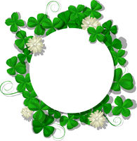 Saint Patricks Day frame