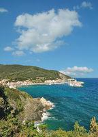 Marciana Marina auf der Insel Elba,Toskana,Mittelmeer,Italien