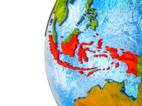 Indonesia on 3D Earth