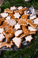 a tasty Gingerbread with royal icing