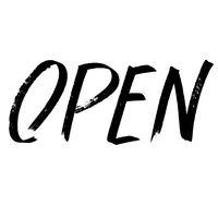 Open - Modern calligraphy
