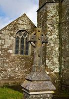 St Teath Kirche - IV -  Cornwall - England