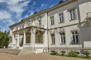 Beautiful Palanga Amber Museum in Tiskeviciai Palace and Botanical Garden in Palanga, Lithuania