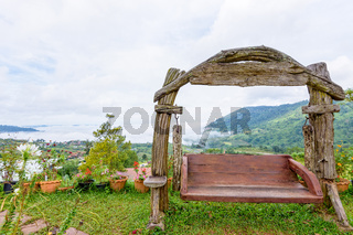 Swing on the hill at Khao Kho