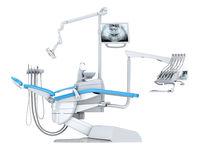 3D rendering modern dental chair