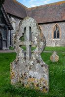 St Mary the Virgin church in village of Hambleden