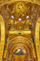 Mosaics in Duomo di Cefalu