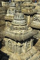 Stupa, Swayambhunath Tempel oder Affen-Tempel, Kathmandu, Nepal