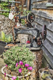 Alte Nähmaschinen | Old sewing machines