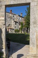 Porec, Stadtmauer beim Obrambena Kula (Noerdlicher Turm)