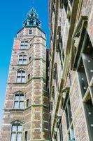 Rosemborg castle tower Copenaghen Denmark