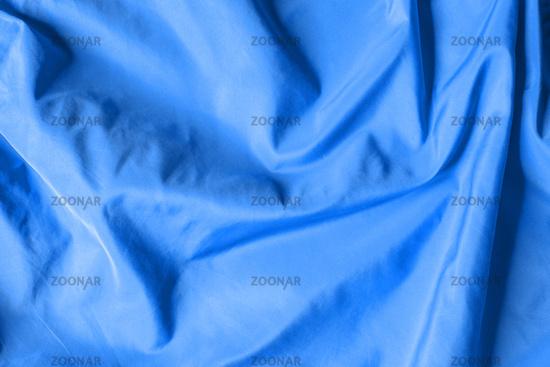 Blue satin background texture