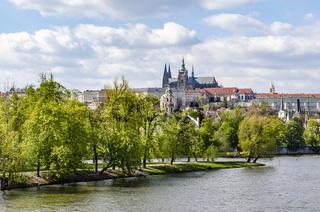Blick zur Prager Burg