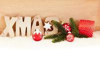 Weihnachten Xmas Header Dekoration