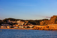Tossa de Mar at Sunrise