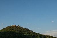 Castle Waldeck in Germany in the evening sun
