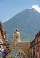 Volcan De Agua Antigua Guatemala